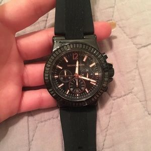 Michael Kors Silicone Watch